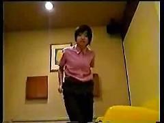 Japanese girlfriend before work