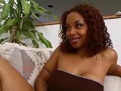 Black woman sucking on white dicks