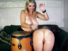 Bongos & bewbs!! hot milfs vicky vette & charlee chase!