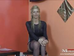 hot, young, bigtits, first, casting, blond, german, interview, deutsch, swiss, schweiz