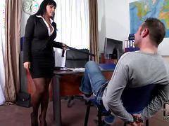 Busty detective jasmine black titty fucks & sucks suspect