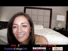 College girl wants to be a pornstar