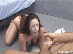 Female prisoner handjob