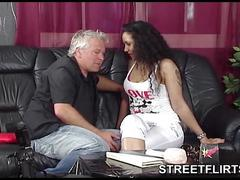 Horny casting agent looking for girls to fuck on the street