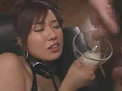 Gorgeous gokkun jizz drinker - hot russian