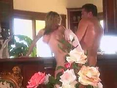 Blond whore gets fucked classic