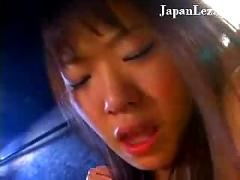 Japanese lesbian strap on fucking - (hot japanese ass)