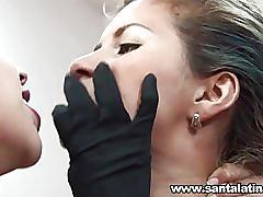 Latinas lesbian show