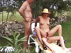 Kerstin nieman still hot! german horny mature outdoor dp