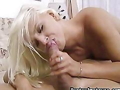 amateur, blowjob, busty amateurs.com, homemade, blonde, 69, big boobs, cock sucking, shaft licking, cumshot, facial, swallow