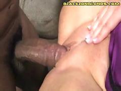 Black fucks blonde hardcore