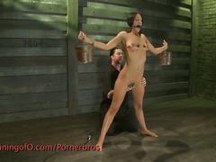Brunette babe hardcore punishment