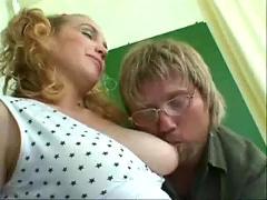 Pregnant teen fuck in classroom