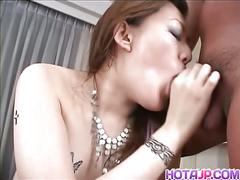 Japanese girl yukino is face fucked by horny guy