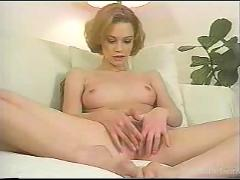 Redhead masturbation and ejaculation