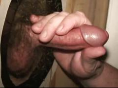 Gloryhole cumshots by workin men xxx.