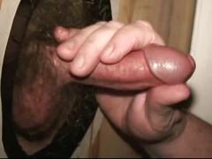 Gloryhole cumshots by workin men xxx.
