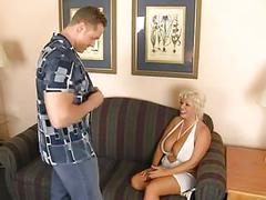 Hot busty milf 01