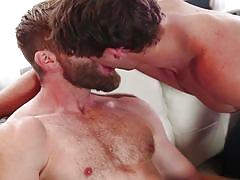 Stud colby gets his dick swallowed by lovely paul