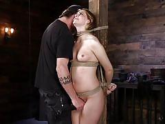 Maya kendricks tries rope bondage for the first time