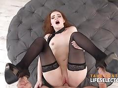 Shelley bliss ginger fucked in the ass pov