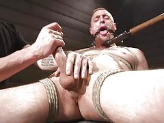 Will they let this helpless guy cum anytime soon?