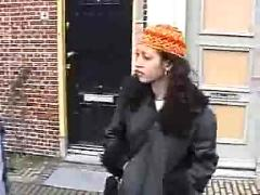 Arab girl in amsterdam