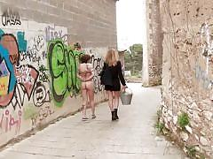 milf, whip, bdsm, redhead, outdoor, tattooed, pussy torture, public humiliation, electric wand, rope bondage, pussy clamps, public disgrace, kink, mona wales, lilyan red, juan lucho