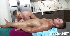 Succulent blowjob for studs sexy film 1