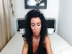 Brunette get fuck on mouth and pussy and get full facial