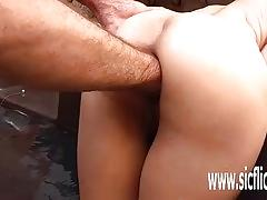 Anal fisting and giant insertions amateur hottie