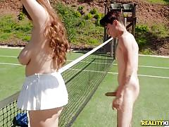 Playing dirty sex games is better than playing tennis