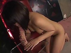 asian, toy, pussy, dildo, solo
