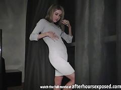Sexy pov striptease blowjob and fuck jessi