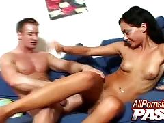 Jessica valentino gets cum in her eager mouth
