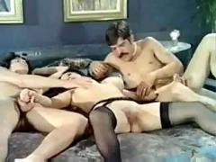 Color climax - big tit swingers