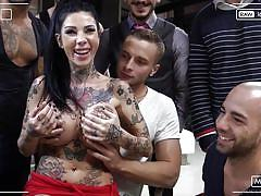 anal, big tits, babe, big cock, deepthroat, gangbang, double penetration, group sex, brunette, tattooed, rocco siffredi, fame digital, rocco siffredi, gabriel zero, lady dee, lilu moon, alisha rage, megan inky, nastro geppetto, er farina