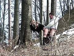 Amateur couple fucking in park!