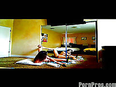 Hot amateur couple caught on secret tape