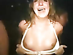 Drunk hottie fucking after party!
