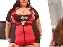 Ssbbw nirvana lust cosplay for naughty hubby friend