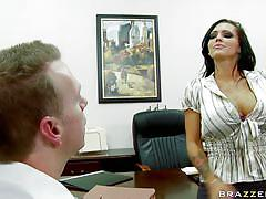 Sexy brunette gets her ass licked