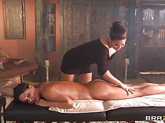 lesbian, massage, lesbians, big tits, ass licking, japanese, thai massage, licking, brunette, horny, london keyes, jessica jaymes, hot and mean, brazzers, jugg cash
