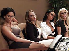 blonde, big tits, orgy, office, puffy nipples, brunette, horny, undressing, sexy ass, licking tits, hot babes, angelina valentine, kagney linn karter, phoenix marie, alexis ford, keiran lee, big tits at work, brazzers, jugg cash