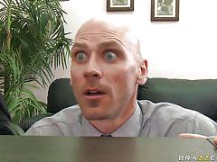 big tits, pantyhose, nipples, office, pussy licking, brunette, bald, hot ass, spread legs, chanel preston, johnny sins, big tits at work, brazzers, jugg cash