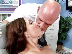 Angelica saige gets horny at the doctor