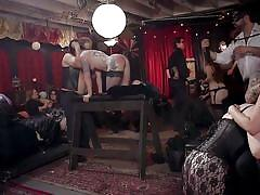 Sex party on the upper floor