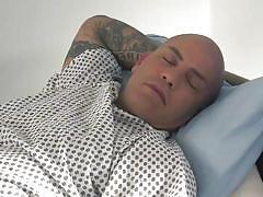 A raging patient attacks a sexy nurse