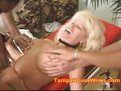 Milf mom gets gang banged and creamed