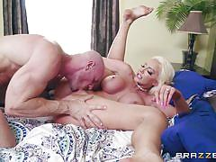 blonde, facial, big tits, big cock, cumshot, blowjob, pussy licking, reverse cowgirl, cock riding, real wife stories, brazzers, johnny sins, nicolette shea
